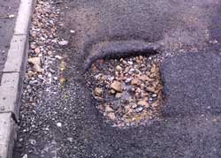 Reporting Potholes and Blocked Drains